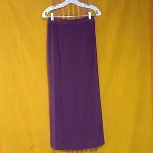 Pastille Long Knit Skirt